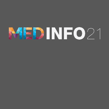 MedInfo 2021 logo