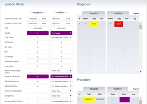 Conduct a clinical coding audit with ResiCAT